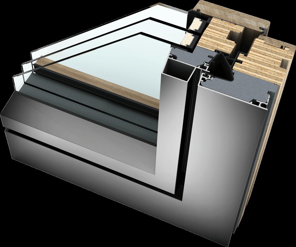 HF 410 Timber Aluminium Window Supply