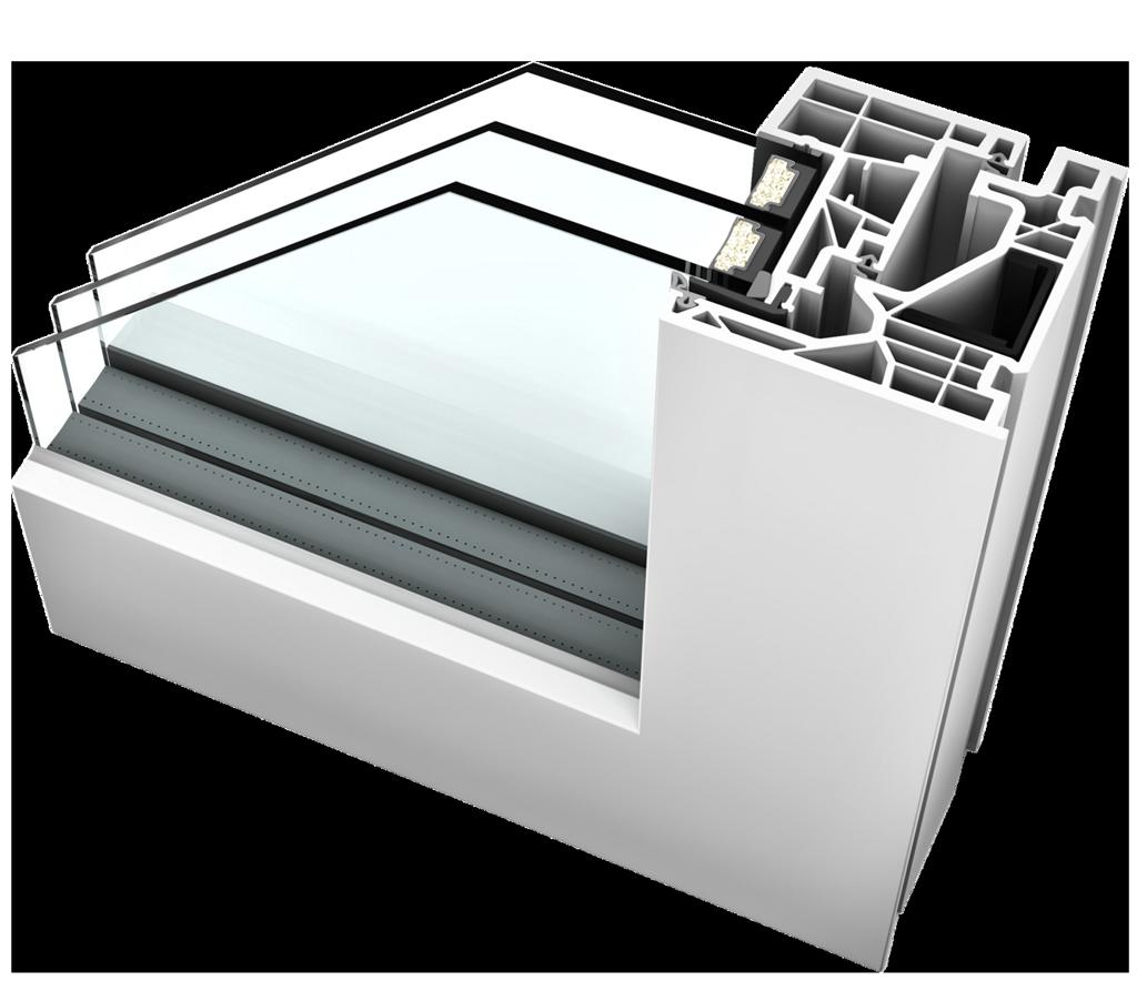 kf 520 flush upvc windows