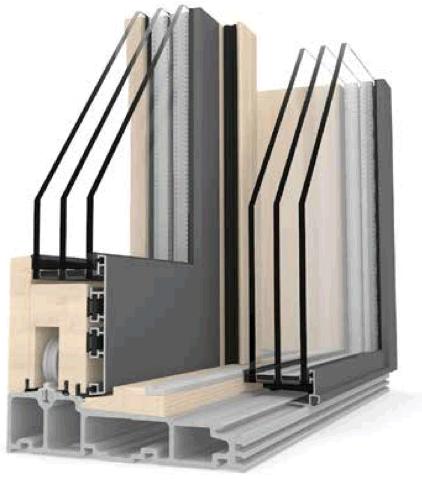 HS 330 Timber Aluminium Windows