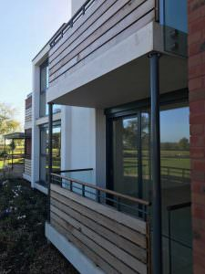Aluminium Clad Windows & Doors for New Build homes