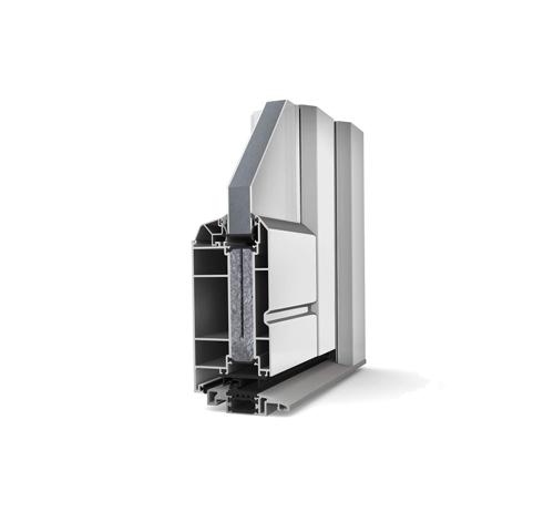 AT200 Internorm Aluminium Door